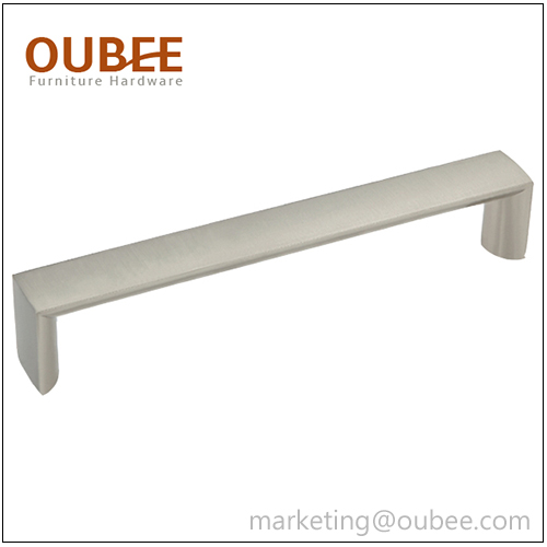 Simple Design Brushed Nickel Drawer Pulls
