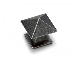 Pewter-plated-cabinet-drawer-knob