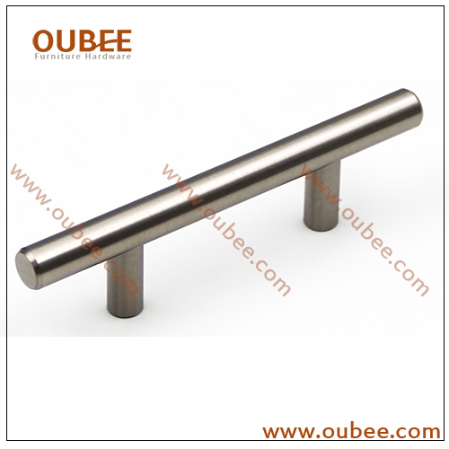 3.7 inch Cabinet Kicthen T Bar Pull In Brushed Nickel