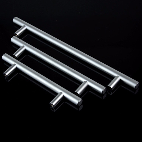 Satin Nickel T bar cabinet pulls china furniture hardware supplier stainless steel cabinet handle