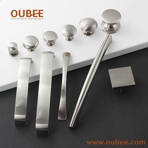 High End Top Quality Pulls And Knobs For Furniture Hardware Drawer Pulls and Handles Brushed Nickel